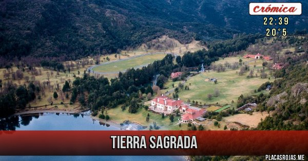 Placas Rojas - Tierra Sagrada