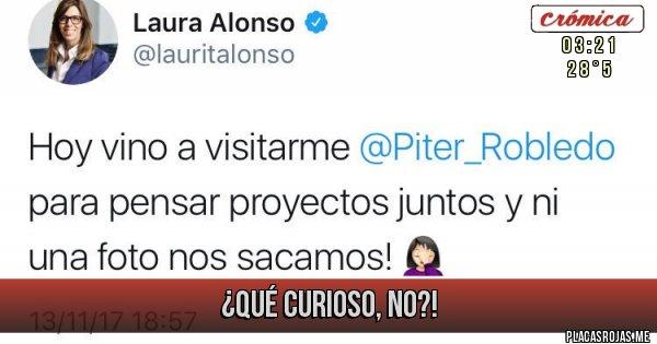 Placas Rojas - ¿QUÉ CURIOSO, NO?!