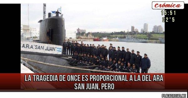 Placas Rojas - LA TRAGEDIA DE ONCE ES PROPORCIONAL A LA DEL ARA SAN JUAN, PERO